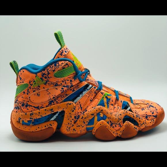 """Adidas Kobe Crazy 8 """"Orange Splatter"""""""